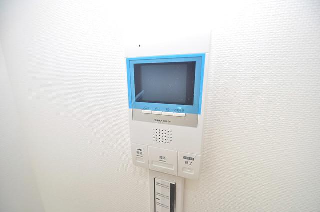ブライト近大前 モニター付きインターフォンでセキュリティ対策もバッチリ。
