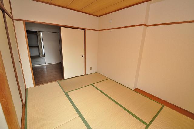 ファミーユ和喜 もうひとつのくつろぎの空間、和室も忘れてません。