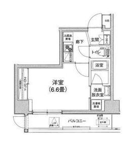アイル横浜ベイサイド1階Fの間取り画像