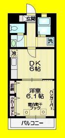 荻窪駅 徒歩15分3階Fの間取り画像
