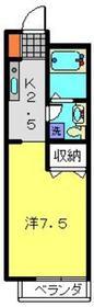 山手駅 徒歩22分1階Fの間取り画像
