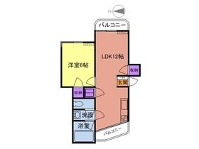 レフォール多摩2階Fの間取り画像