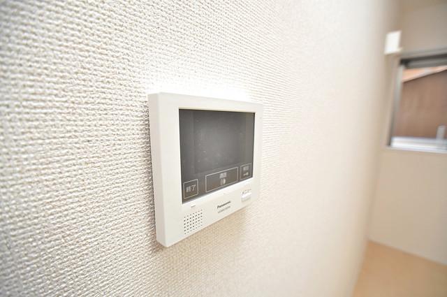フジパレス高井田西Ⅰ番館 TVモニターホンは必須ですね。扉は誰か確認してから開けて下さいね