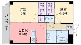 KIERRASAARI3階Fの間取り画像