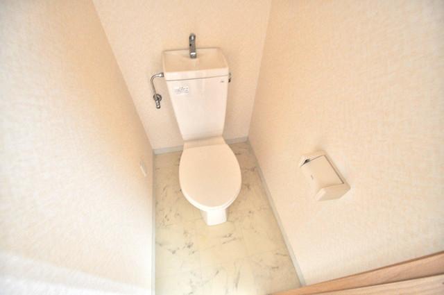アンソレイユ菱屋西 スタンダードなトイレは清潔感があって、リラックス出来ます。