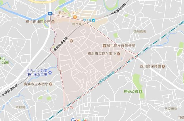 武田アパート案内図