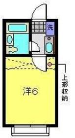 二俣川駅 徒歩6分1階Fの間取り画像