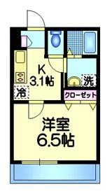 グラウキスト4階Fの間取り画像