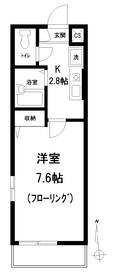 クレスト シモイタ4階Fの間取り画像