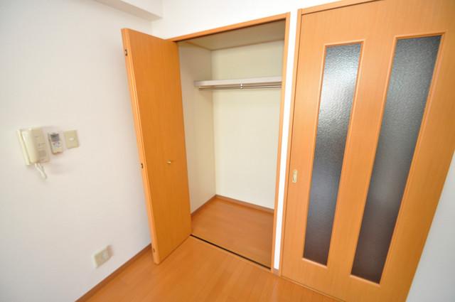 プランドール南巽 もちろん収納スペースも確保。おかげでお部屋の中がスッキリ。