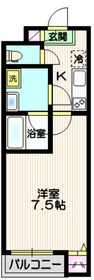 仮称 埼玉蕨プロジェクト4階Fの間取り画像