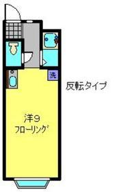 SRコーポレート3階Fの間取り画像
