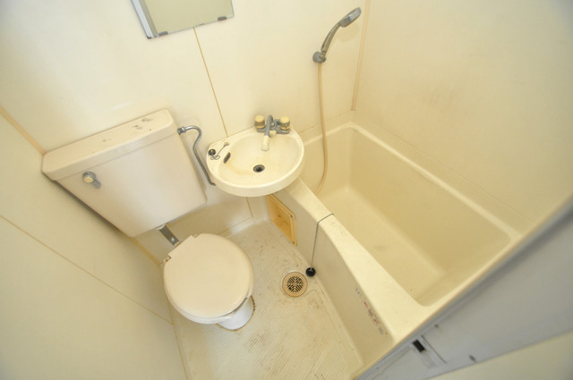 MINTIA北巽 シャワー一つで水回りが掃除できて楽チンです