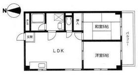 貴島セブンマンション2階Fの間取り画像