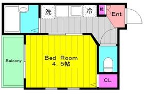 メルディア生田1階Fの間取り画像