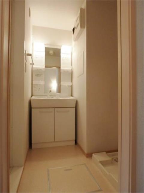 ルボア1洗面所