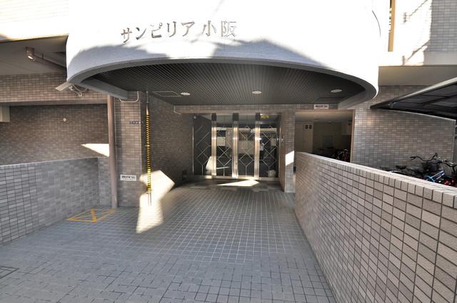 サンピリア小阪 高級感がある広いエントランスがあなたを出迎えてくれます。