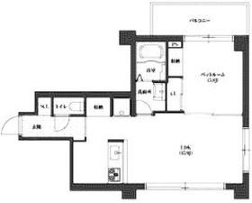 アスプライム千代田富士見1階Fの間取り画像
