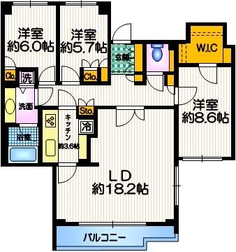 目黒駅 徒歩9分間取図