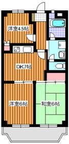 新高島平駅 徒歩18分3階Fの間取り画像