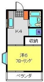 グランデュール南太田1階Fの間取り画像