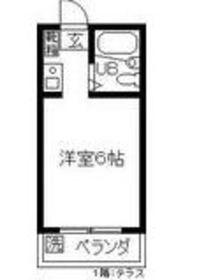 ジョイフルオークラ341階Fの間取り画像