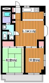 コミュニオン佼徳2階Fの間取り画像