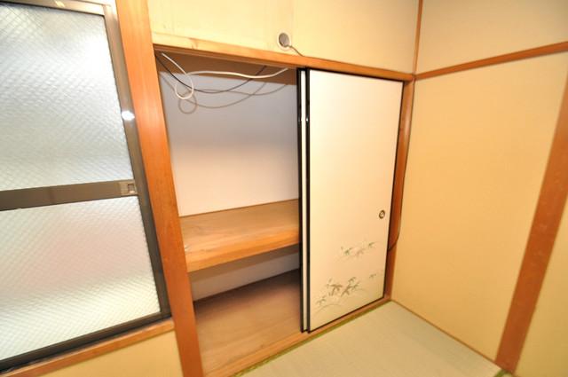 ビーフォレスト尼崎KANNAMI 各所に収納があるので、お部屋がすっきり片付きますね。