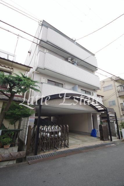 大阪市旭区中宮3丁目の賃貸マンションの外観