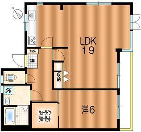 中野新橋駅 徒歩17分3階Fの間取り画像