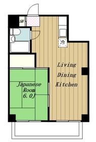 鶴巻温泉駅 車12分3.8キロ4階Fの間取り画像