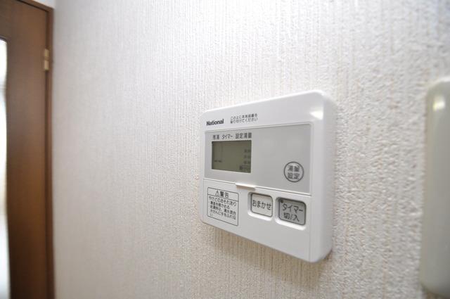 Grace Court 給湯リモコン付。温度調整は指1本、いつでもお好みの温度です.