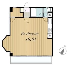 プライムハウス3階Fの間取り画像