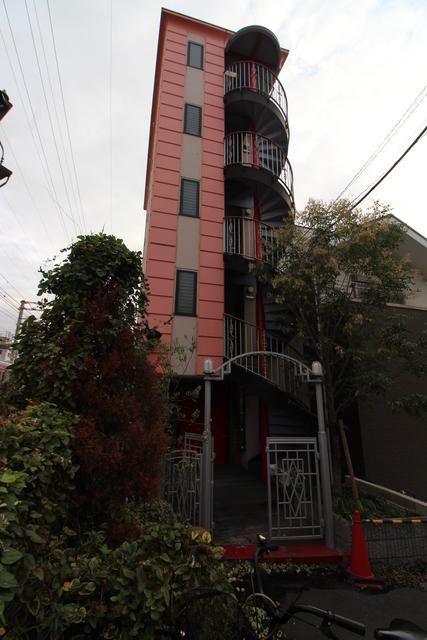 大阪市住吉区墨江2丁目の賃貸マンションの外観