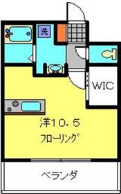 新羽駅 徒歩11分4階Fの間取り画像