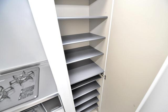 クラリスクオーレ 玄関にはオシャレなシューズボックスが設置されていますよ。