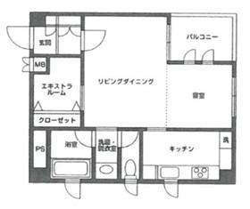 コート本郷1階Fの間取り画像