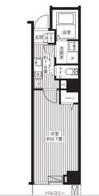 ルアン川崎6階Fの間取り画像