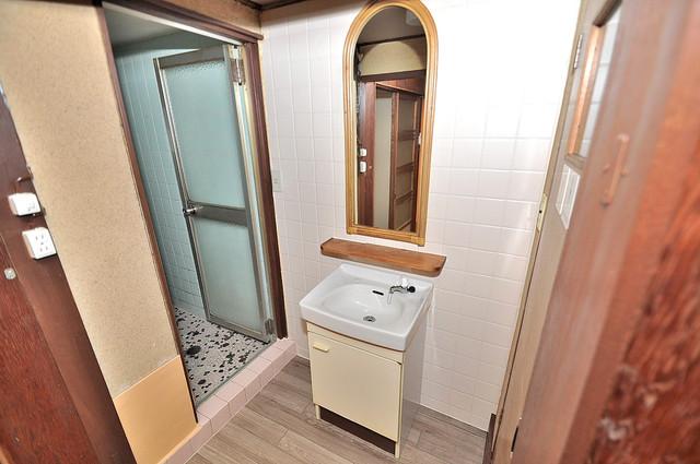 コンラッド長瀬 可愛いいサイズの洗面台ですが、機能性はすごいんですよ。