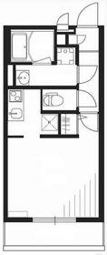 リブリ・アドバンス鶴見II2階Fの間取り画像