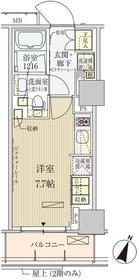 パークアクシス赤坂見附2階Fの間取り画像