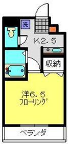 日吉本町駅 徒歩24分2階Fの間取り画像