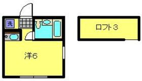 アスリエ1階Fの間取り画像