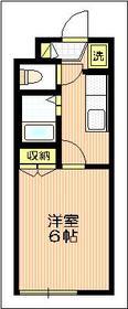 ジョイフル鈴木2階Fの間取り画像