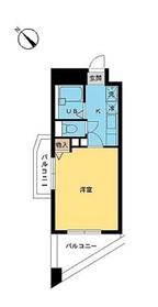 スカイコートヌーベル早稲田10階Fの間取り画像