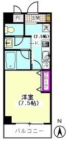 ハイネスオートリ 502号室