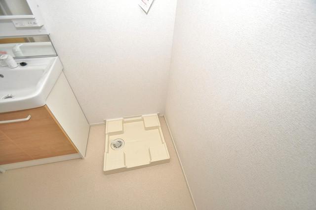 COCORO 洗濯機置場が室内にあると本当に助かりますよね。