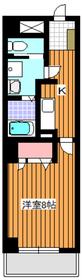 エミナンス丸山台3階Fの間取り画像