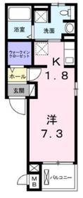 メゾンステラ3階Fの間取り画像