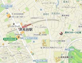 コート・ドゥ・ベール弐番館案内図